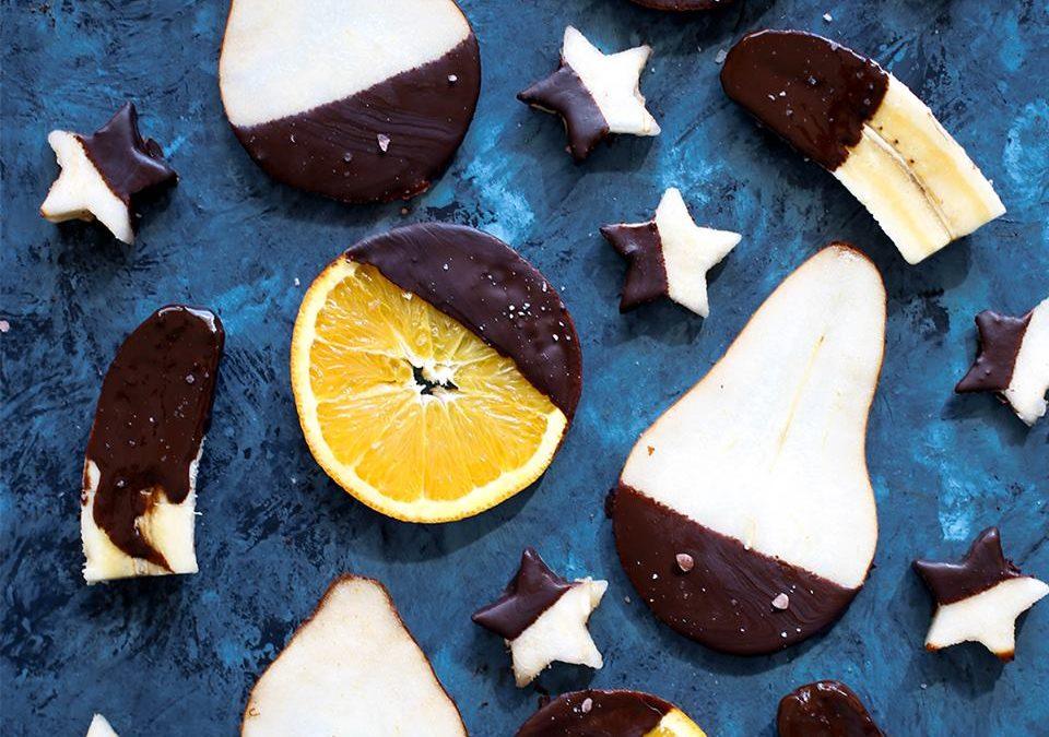 Dulces chocolateados